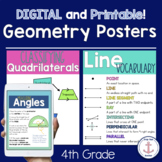 4th Grade Geometry Math Posters