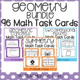 4th Grade Geometry Task Card Bundle | Geometry Math Center