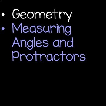 Geometry and Angles Math Unit 4th Grade Common Core Bundle