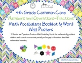 4th Grade Geometry Numbers and Operations-Fraction
