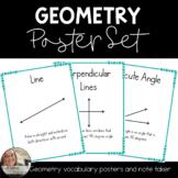 4th Grade Geometry Poster Set