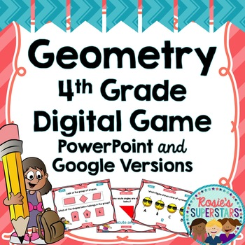 4th Grade Geometry Prep Digital Game