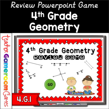 4th grade geometry review powerpoint game by teacher gameroom tpt