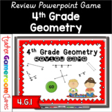 4th Grade Geometry Review Powerpoint Game Distance Learning
