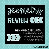 4th Grade Geometry Review Unit- 4.6A; 4.6C; 4.6D