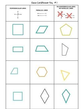 4th Grade Geometry Sort It! Games