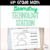 4th Grade Digital Geometry Activities for Technology Station