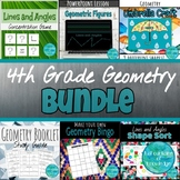4th Grade Geometry Unit Bundle
