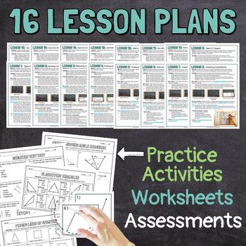 4th Grade Geometry Unit Bundle