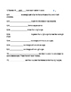 4th Grade Geometry Vocabulary Worksheet/Homework