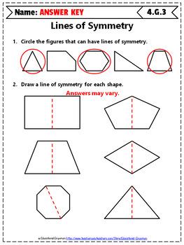 4th Grade Geometry Worksheets: 4th Grade Math Worksheets, Geometry