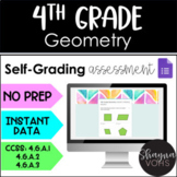4th Grade Digital Geometry for Google Forms