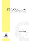 2019 4th Grade Georgia GA Milestones ELA/Grammar Study Guide