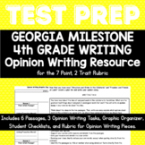 4th Grade Georgia Milestone Opinion Writing Texts and Prompts