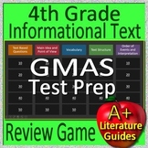 4th Grade Georgia Milestones Test Prep EOG Informational Text Review Game GMAS