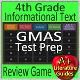 4th Grade Georgia Milestones Test Prep EOG Informational Text Review Game GMAS