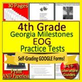 4th Grade Georgia Milestones Test Prep EOG Practice for GMAS Language Arts