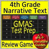 4th Grade Georgia Milestones Test Prep EOG Reading Literature Review Game GMAS