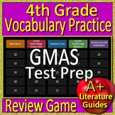 4th Grade Georgia Milestones Test Prep Vocabulary and Mythology Review Game GMAS