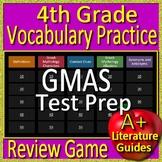 4th Grade Georgia Milestones Test Prep Vocabulary and Mythology Review Game GMAS