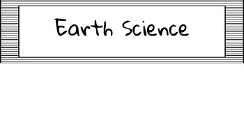 """4th Grade Georgia Science """"I Can"""" Statements"""