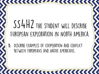 4th Grade Georgia Social Studies Standards