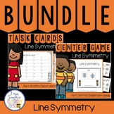 4th Grade Go Math 10.5 Line Symmetry Bundle