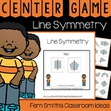 4th Grade Go Math 10.5 Line Symmetry Center Games