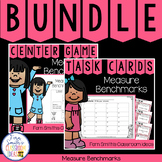 4th Grade Go Math 12.1 Measure Benchmarks Bundle