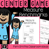 4th Grade Go Math 12.1 Measure Benchmarks Center Games