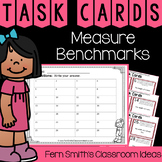 4th Grade Go Math 12.1 Measure Benchmarks Task Cards