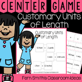 4th Grade Go Math 12.2 Customary Units of Length Center Games
