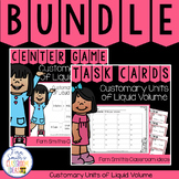4th Grade Go Math 12.4 Customary Units of Liquid Volume Bundle