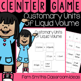 4th Grade Go Math 12.4 Customary Units of Liquid Volume Ce