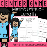 4th Grade Go Math 12.5 Metric Units of Length Center Games