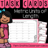 4th Grade Go Math 12.5 Metric Units of Length Task Cards