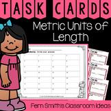 4th Grade Go Math 12.6 Metric Units of Length Task Cards