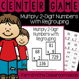 4th Grade Go Math 2.10 Multiply 2-Digit Numbers with Regro