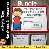 4th Grade Go Math  2.3 Multiply Tens, Hundreds, and Thousands  Bundle