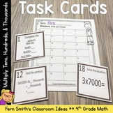4th Grade Go Math 2.3 Multiply Tens, Hundreds, and Thousands Task Cards