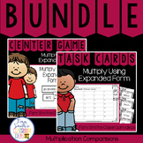 4th Grade Go Math  2.6 Multiply Using Expanded Form Bundle