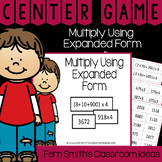 4th Grade Go Math 2.6 Multiply Using Expanded Form Center Games