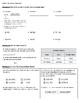 4th Grade Go Math- Chapter 1 Classwork/Homework