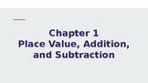 4th Grade Go Math Chapter 1 Powerpoint