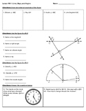 4th Grade Go Math- Chapter 10 Classwork/Homework