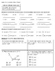 4th Grade Go Math- Chapter 12 Classwork/Homework