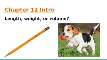 4th Grade Go Math- Chapter 12 Powerpoint