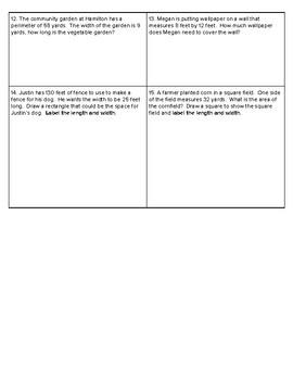 4th Grade Go Math- Chapter 13 Assessment