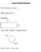 4th Grade Go Math Chapter 13 Perimeter (Individual Lesson Supports)