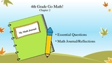 4th Grade Go Math! Chapter 2 Essential Questions and Journ